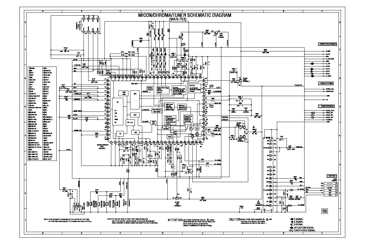 RCA 14M041 14M041 Sch Main pdf Diagramas de Televisores