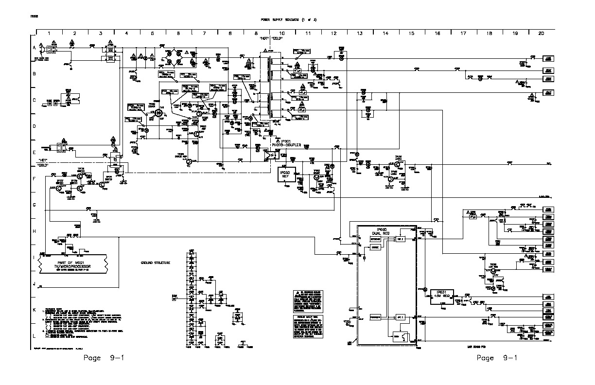 RCA 27R410 ITC008 ITC008 Power Supply pdf Diagramas de