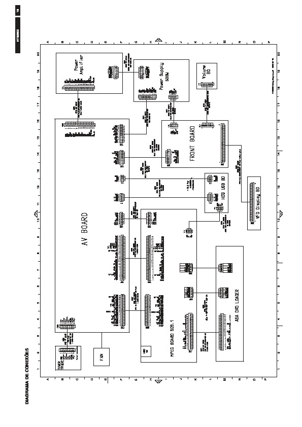 Philips Philips HTS6500 pdf Diagramas de home theater