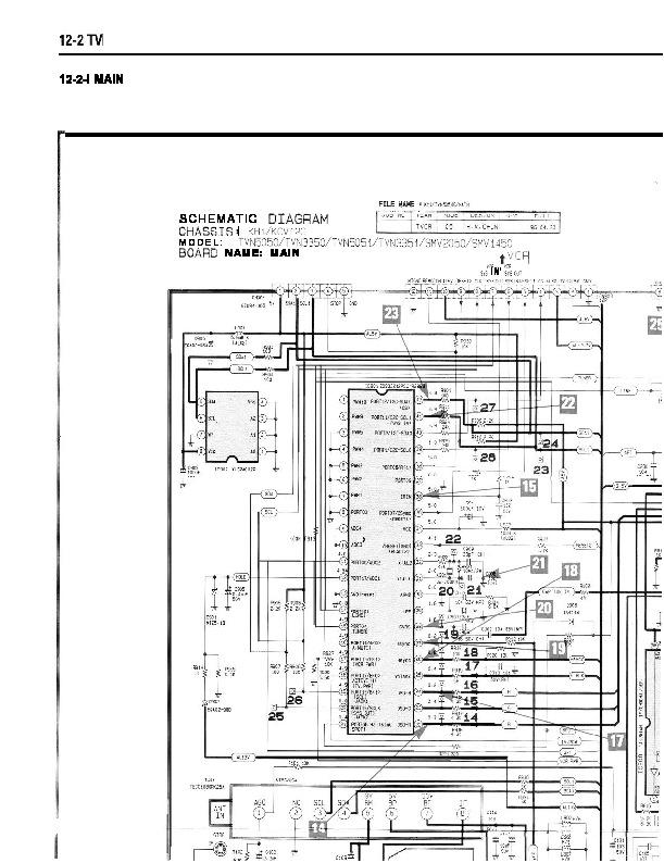 SAMSUNG ct3351 KH1/KCV12C ESQUEMA ct3351 v pdf Diagramas