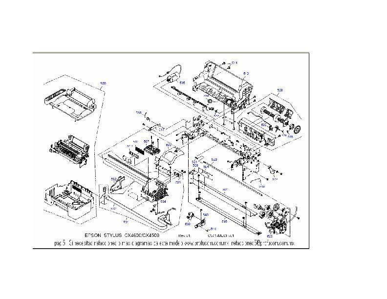 Epson cx4600 cx4600 pag5 pdf Diagramas de Impresoras
