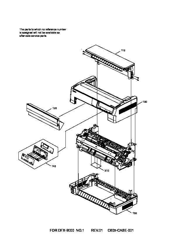 Epson dfx9000 dfx9k ed pdf Diagramas de Impresoras
