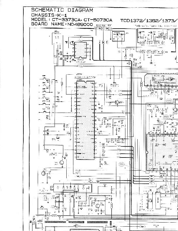 SAMSUNG Samsung CT3373CA Chasis K1 pdf Diagramas de