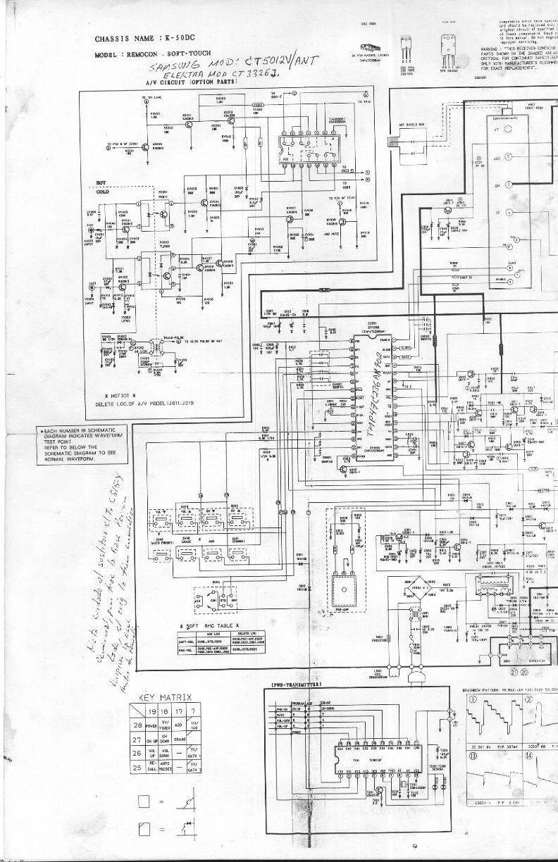 SAMSUNG SAMSUNG+CT 5051V+K50DC pdf Diagramas de