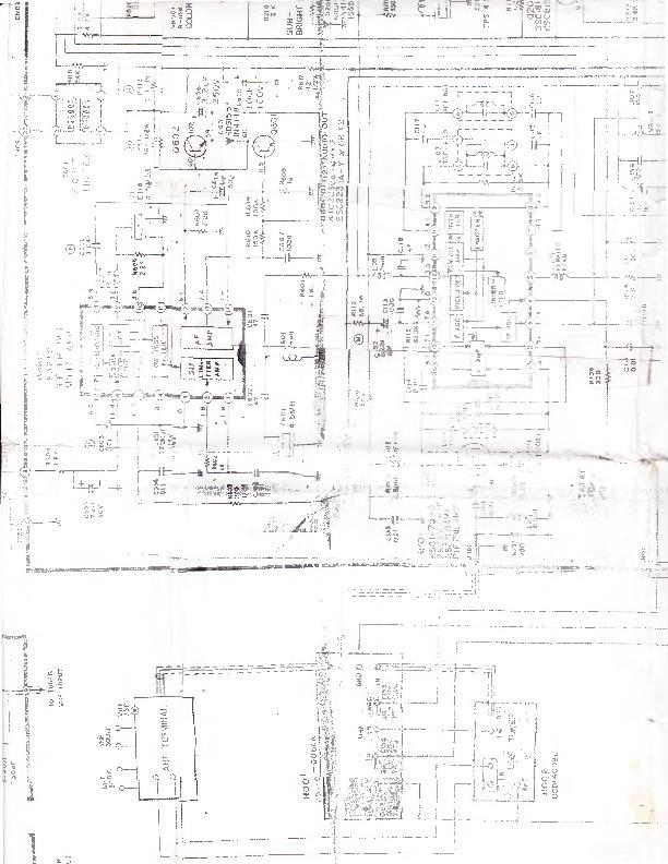 SAMSUNG tv samsung CT341K chasis K20A pdf Diagramas de