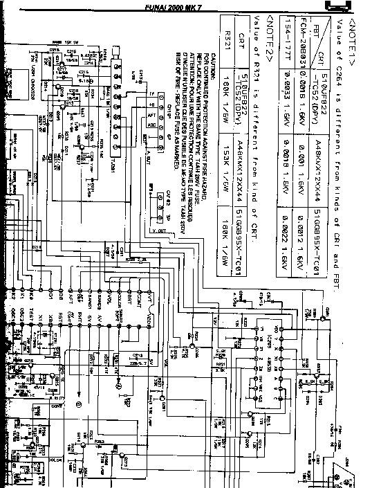 SAMSUNG 2000A TV FUNAI 2000A MK7 pdf Diagramas de