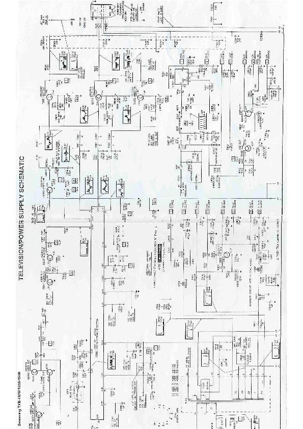 Samsung CL 21Z57MQ TXB 1920 1930 1940 pdf Diagramas de