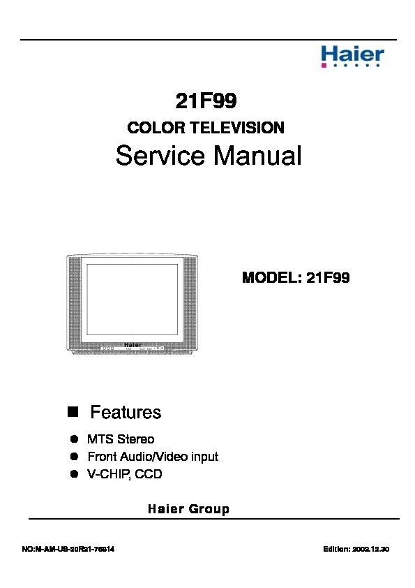 sankey CN 21PF05 CT 21PF05 MANUAL DE SERVICIO pdf