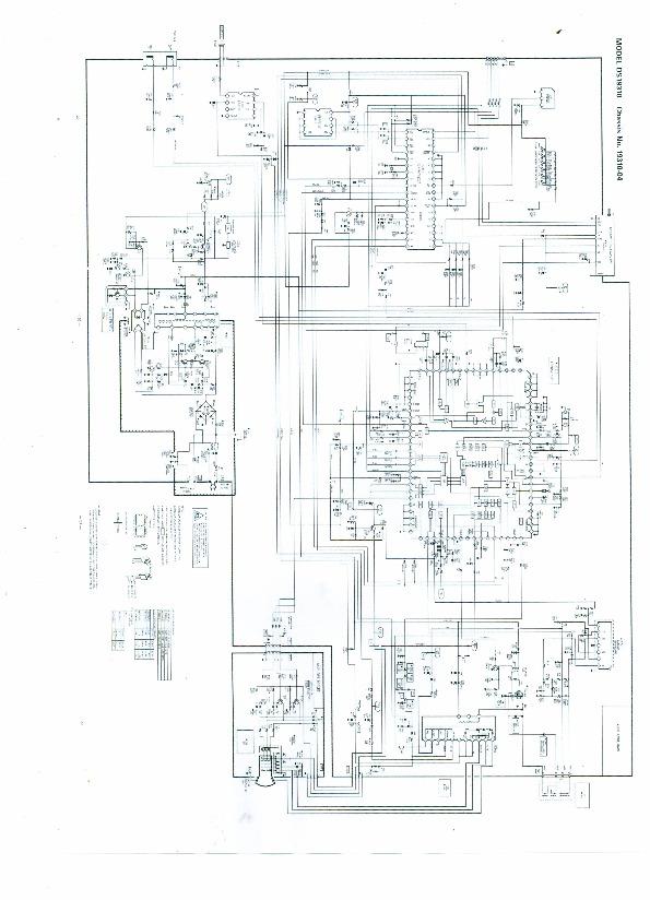 SANYO Diagrama DS19310 00 pdf Diagramas de Televisores Lcd