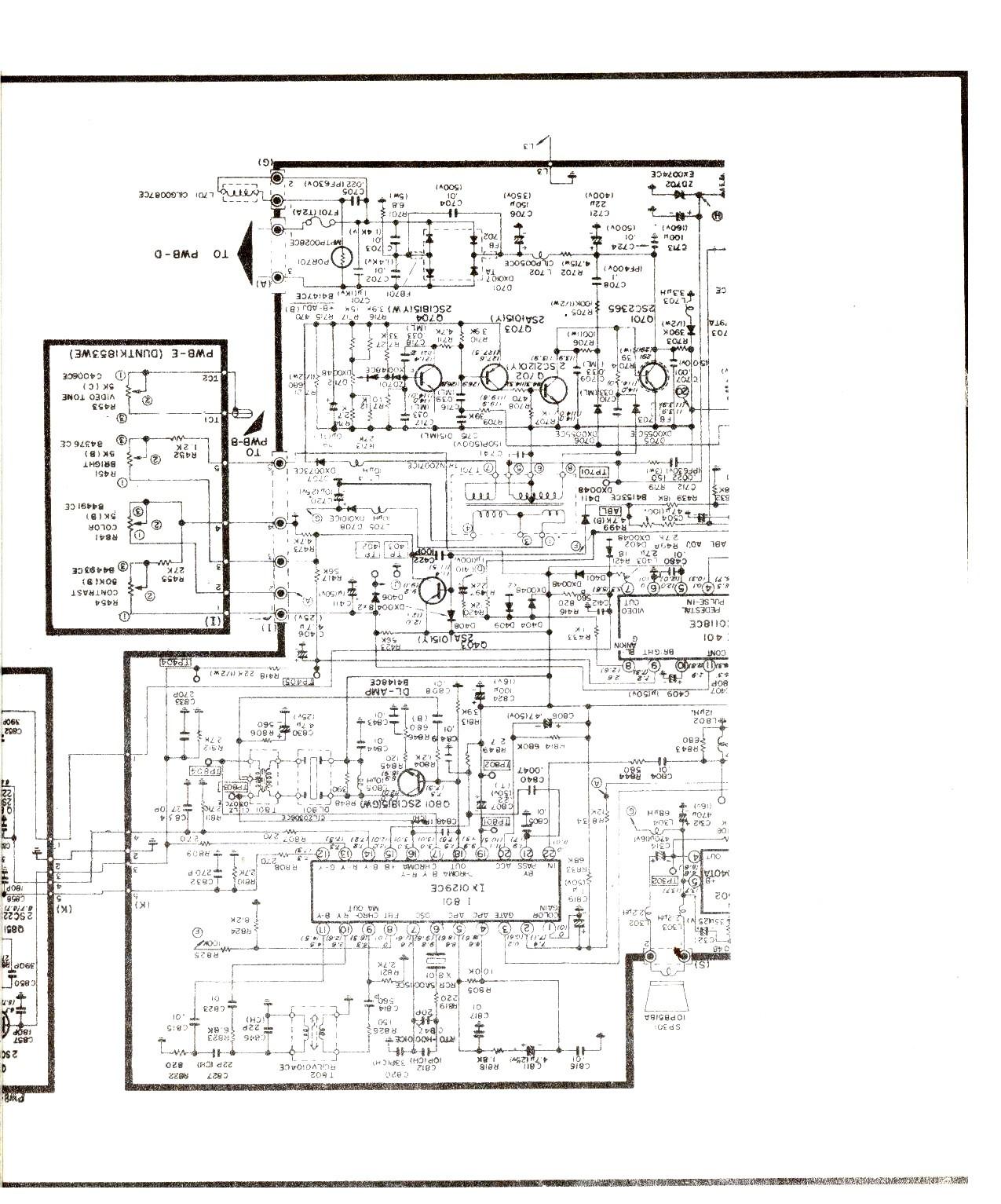 SANYO SANYO CPT3735 003 jpg Diagramas de Televisores Lcd y