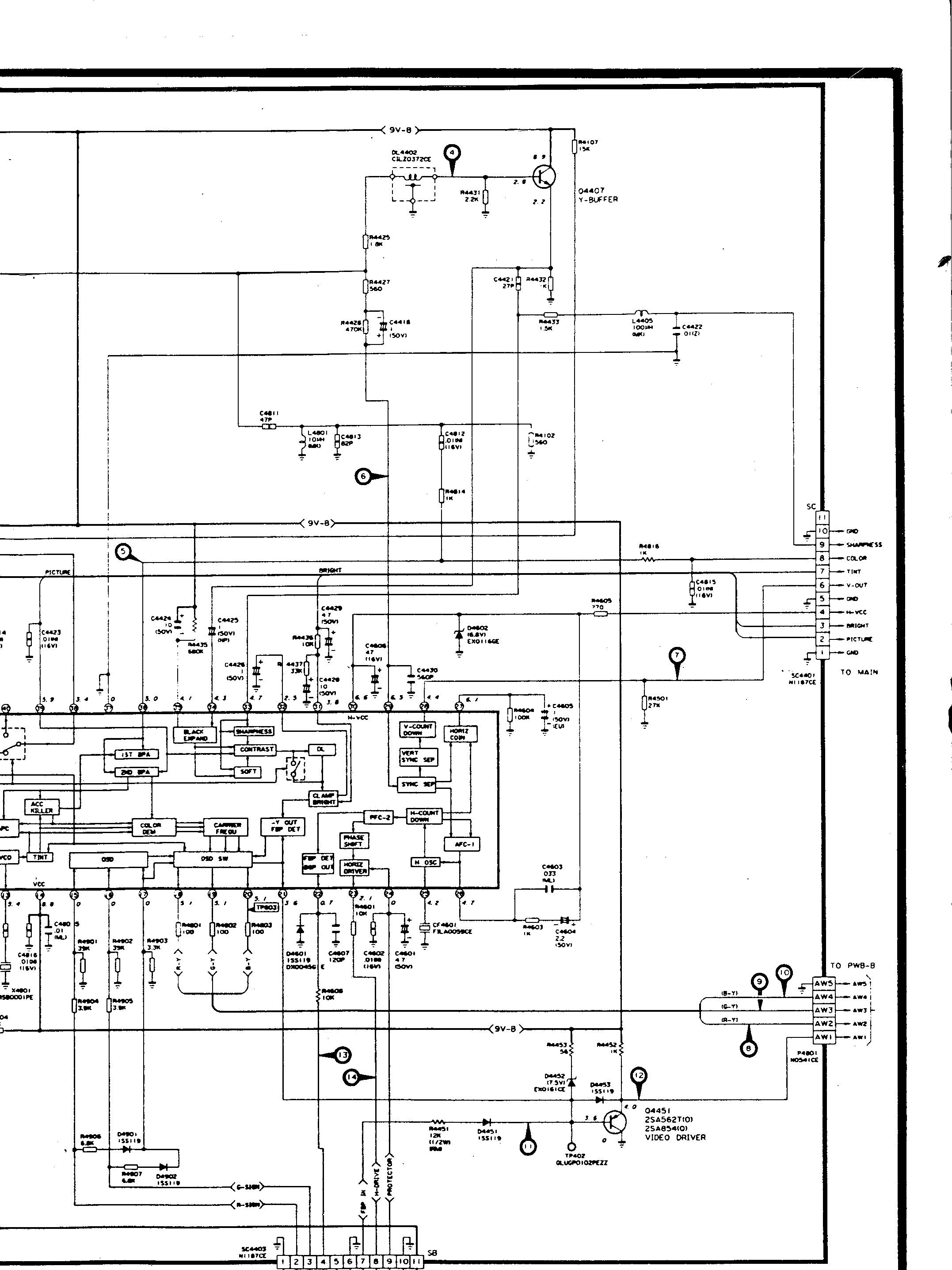 SHARP SHARP 25A M100 escanear0010.gif Diagramas de