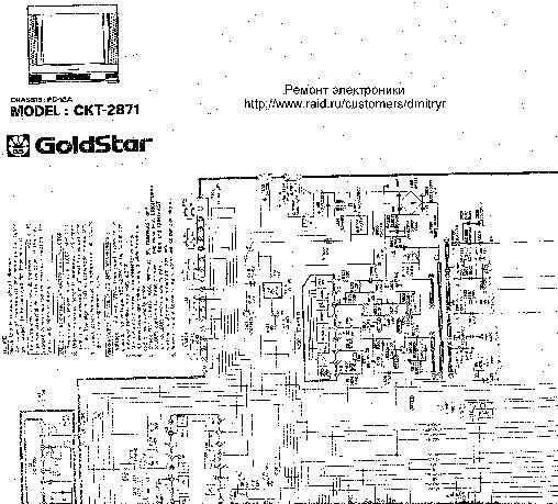 SHARP goldstar ckt GoldStar CKT2871 pdf Diagramas de