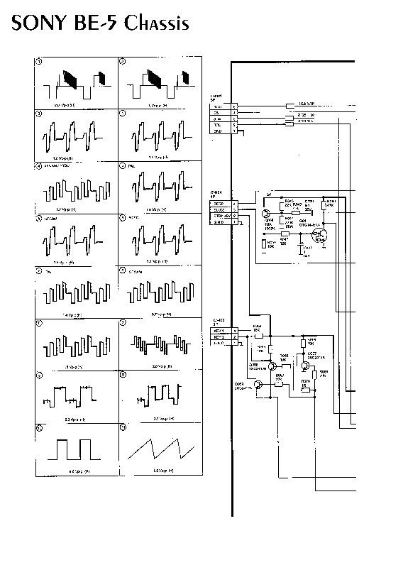 SONY BE 5Sony KV 25R1K pdf Diagramas de Televisores Lcd y