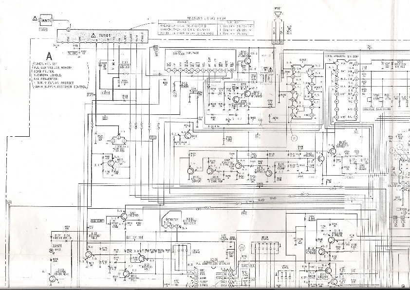 SONY KV 1427R KV 1427R pdf Diagramas de Televisores Lcd y