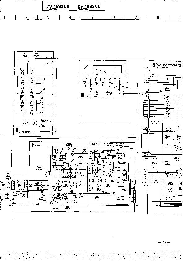 SONY KV 1882UB KV 1882UB pdf Diagramas de Televisores Lcd