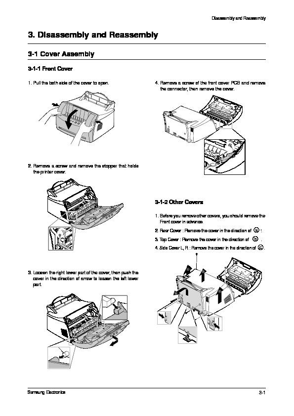 SAMSUNG impresora ml1210 20030125151045333 ML 1210 XAA