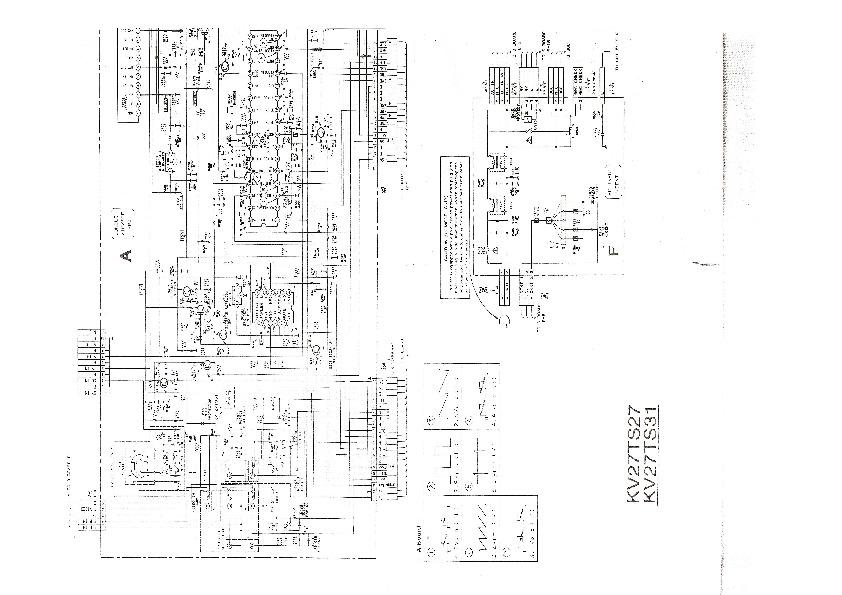 SONY SONYKV27TS27 pdf Diagramas de Televisores Lcd y