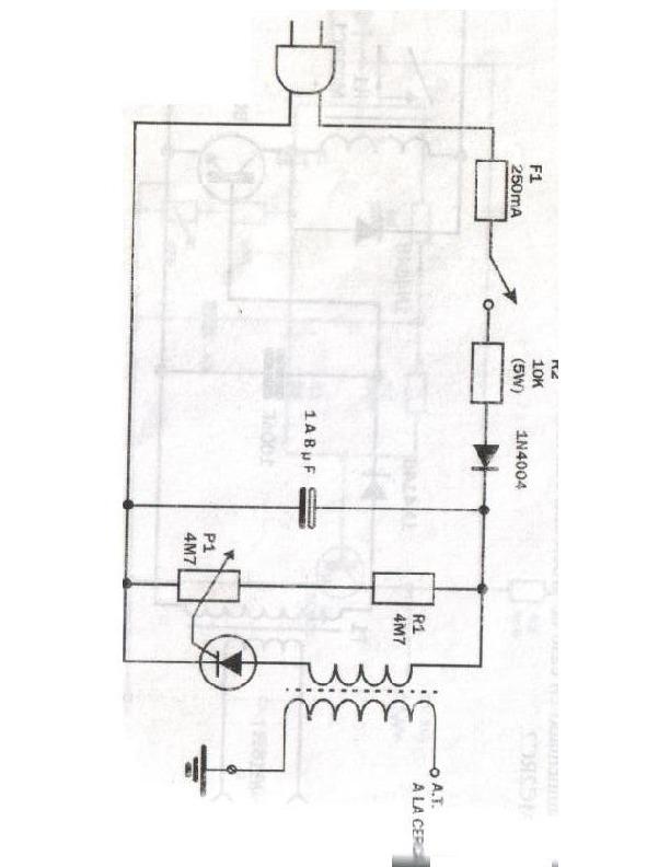 Electricidad electrificador alimentado por la red