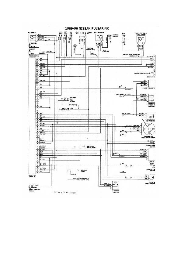 Nissan Tsuru/Sentra 10 esqnis32 pdf Diagramas de autos