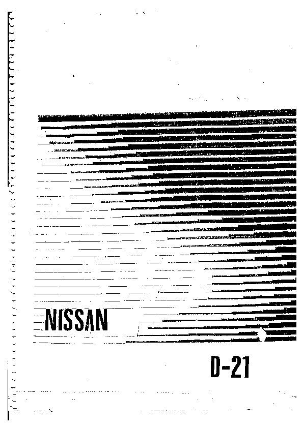 Nissan Nissan+D21 pdf Diagramas de autos