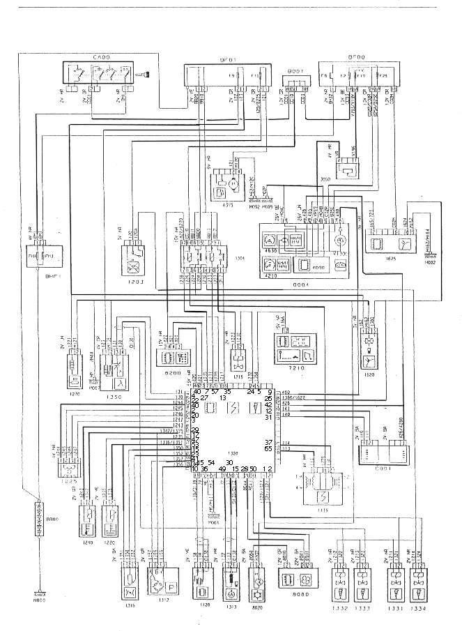 Circuito Electrico Peugeot Xrd: Peugeot esquema eléctrico