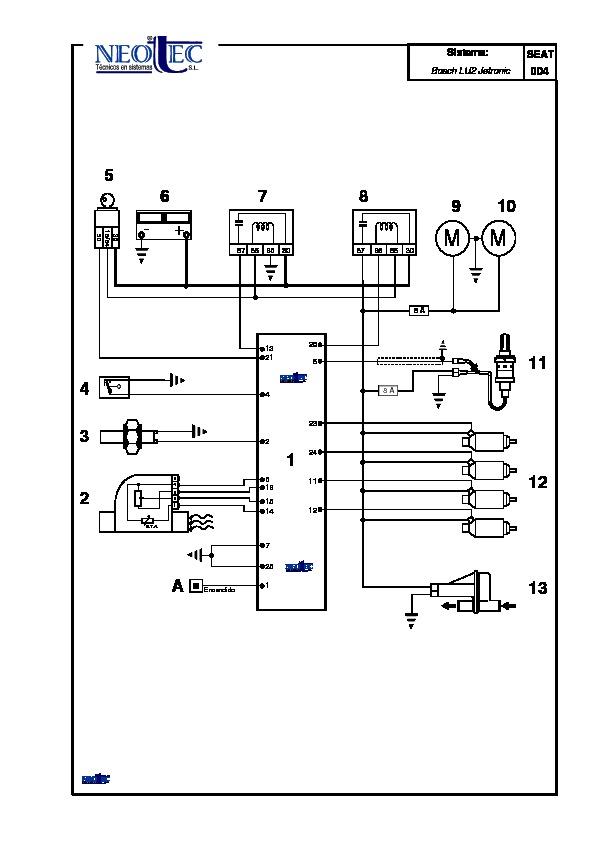 2002 seat malaga pdf Diagramas de autos