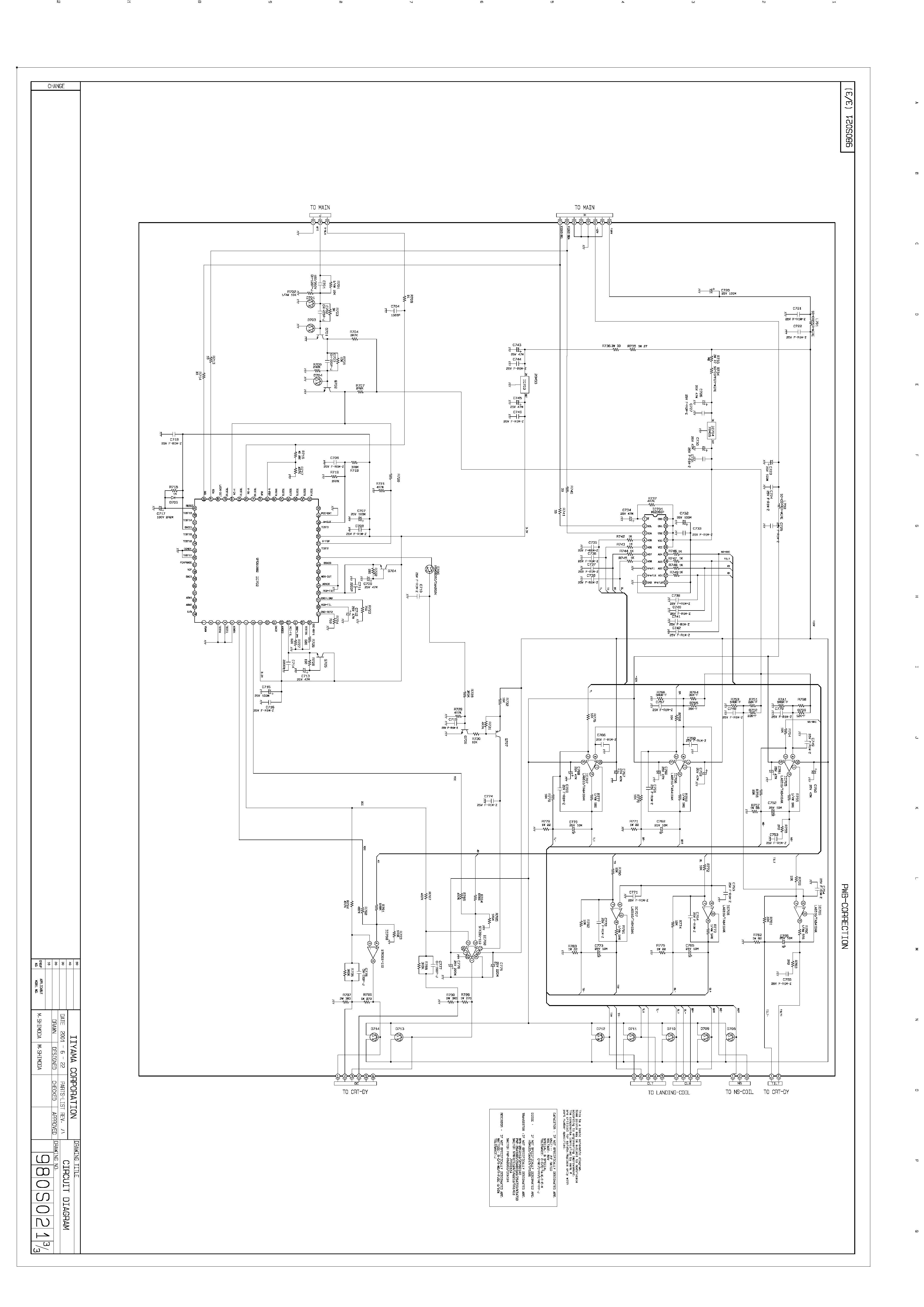 iiyama HA202DT large pdf Diagramas de monitores