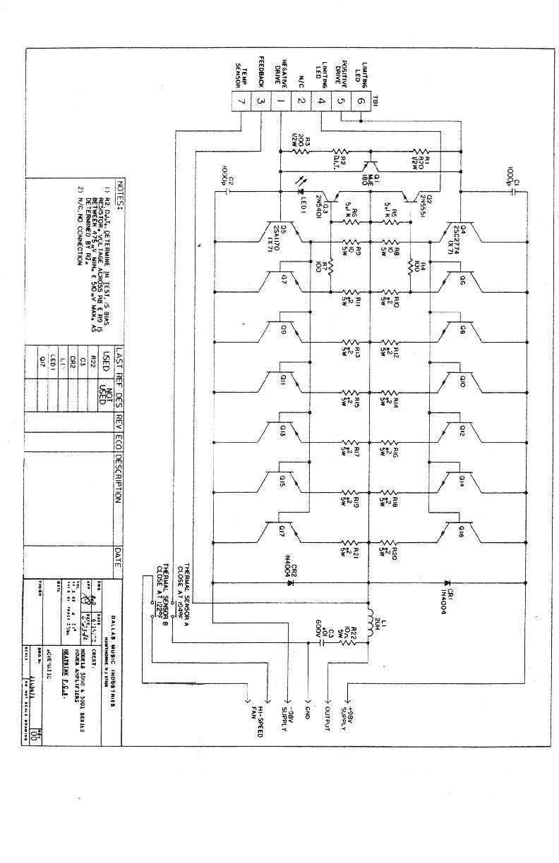 JL 5001 output schematic pdf Diagramas de autoradio