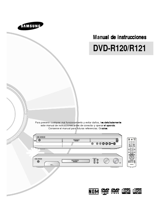 DVD R120 User Manual pdf Diagramas de dvd blue ray