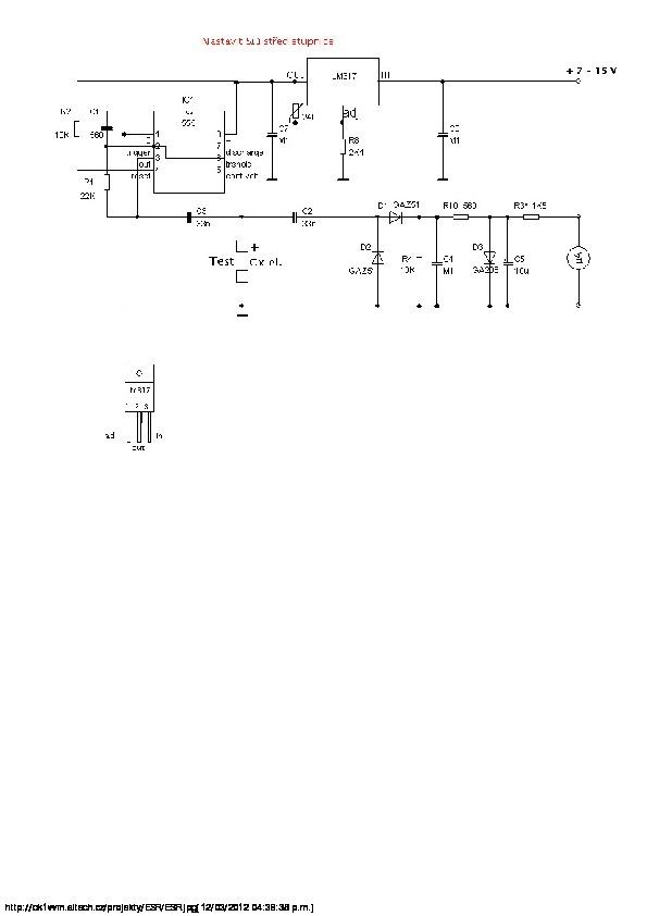 NOTAS Tecnicas para desarrollos de circuitos medidor esr