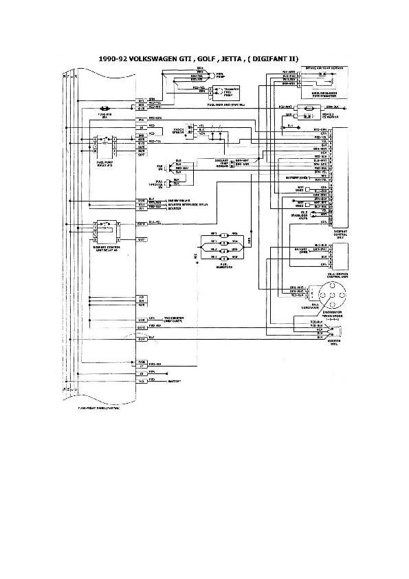 Volkswagen Golf 23/36 esqvw21 pdf Diagramas de autos