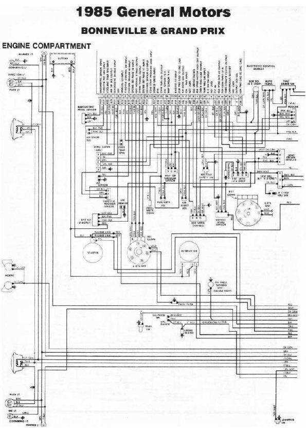 Pontiac Boneville 1/4 diag85121 small pdf Diagramas de