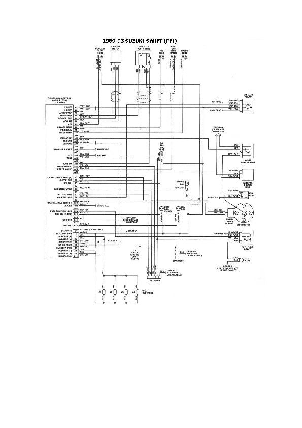 Suzuki suzuki 3/5 esqzuki013 pdf Diagramas de autos