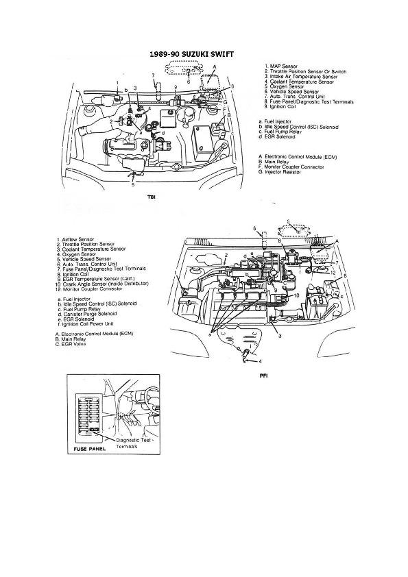 Suzuki suzuki 1/5 esqzuki010 pdf Diagramas de autos