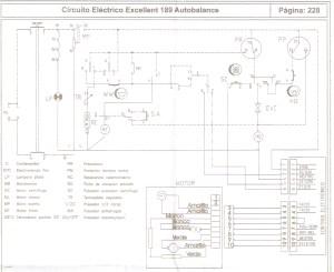 Drean CIRCUITO ELECTRICO DREAN EXCELLENTE 189 AUTOBALANCE jpg Diagramas de lavarropas secadoras