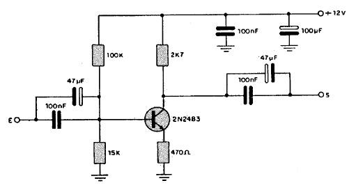 Amplificador de Señal de TV Cable amplificadorvideo3vr4