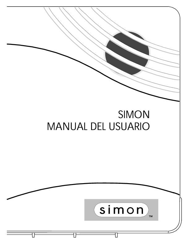 Simon 2 spanishsimonmanual pdf Diagramas de alarmas