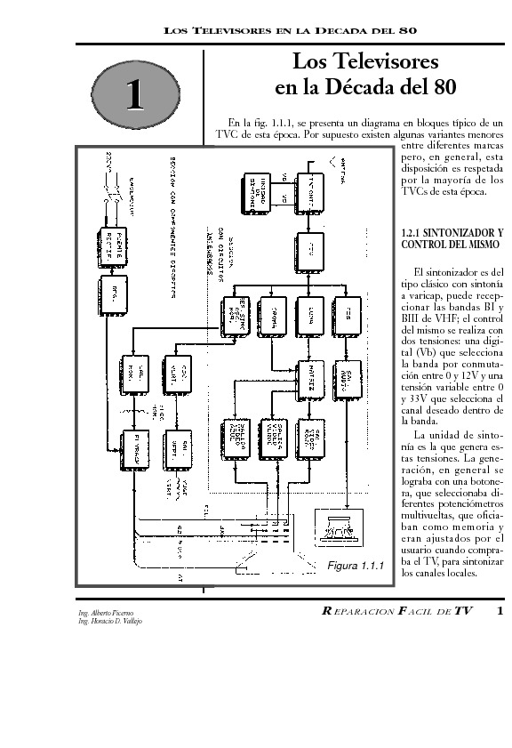 TV LCD y PLASMA GENERAL S N Repa facil 1 pdf Diagramas de