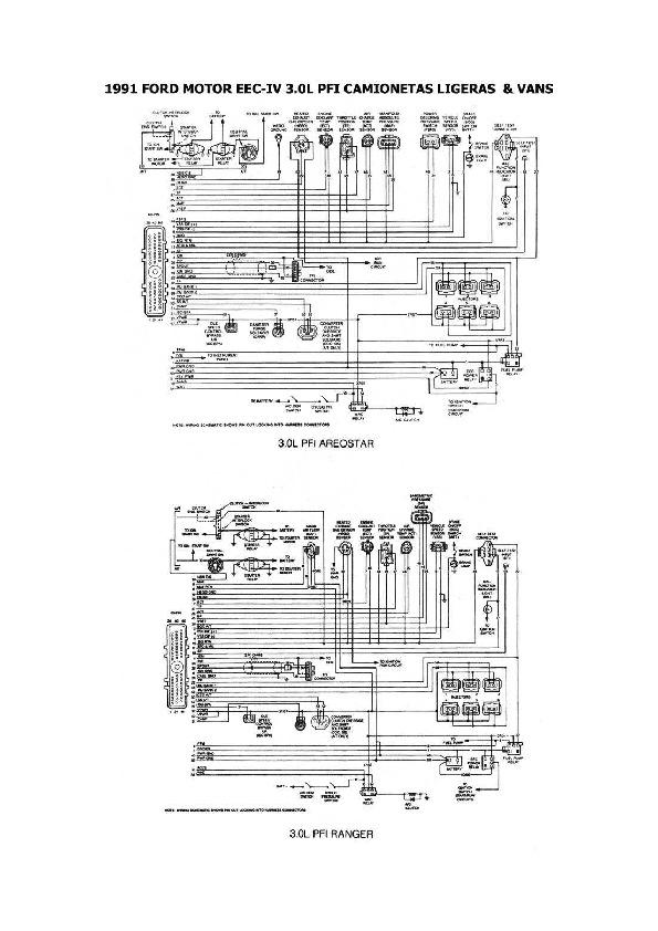 FORD ford ranger 3/8 esqford304 pdf Diagramas de autos