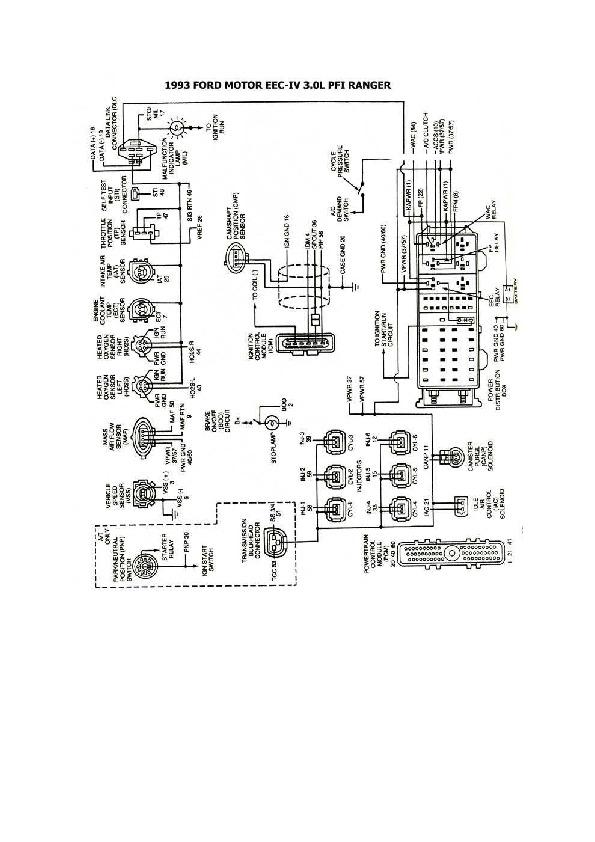 FORD ford ranger 7/8 esqford3011 pdf Diagramas de autos