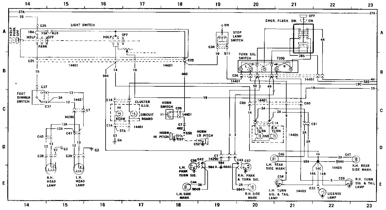 FORD ford maverick año 1976 diag3.gif Diagramas de autos