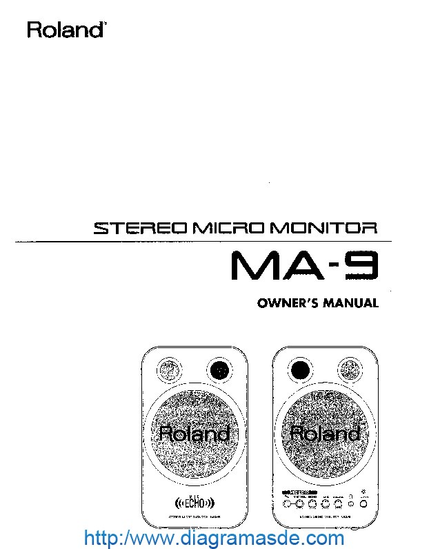 Roland MA 9 Manual del Usuario pdf Roland MA 9 Manual del