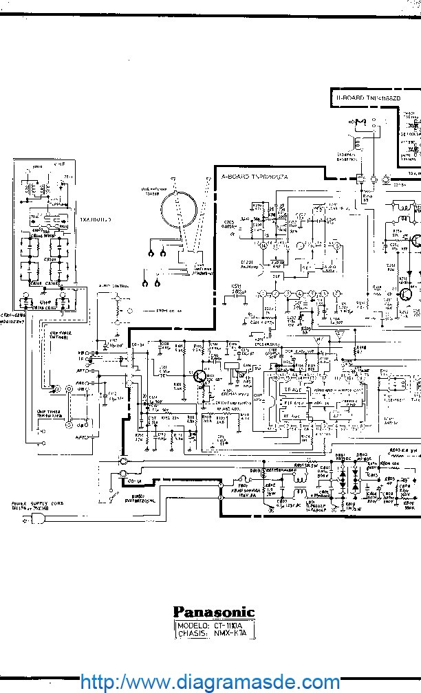 Panasonic_1110A_Chasis_NMX-K7A.pdf Panasonic — National CT