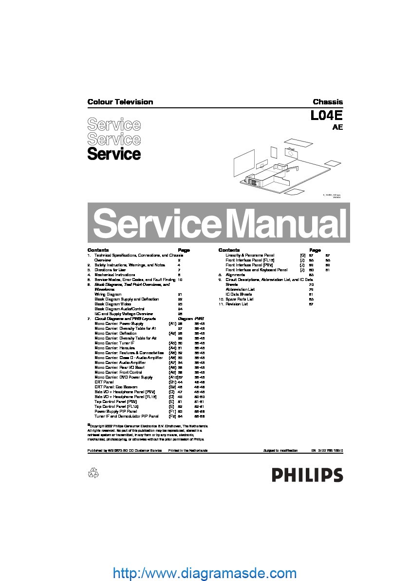 Philips chassis L04E AE 312278516810.pdf PHILIPS