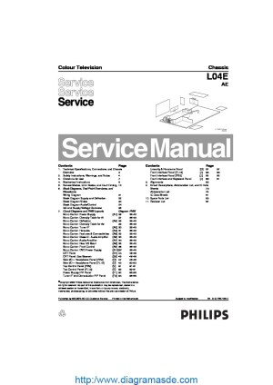Philips chassis L04E AE 312278516810pdf PHILIPS