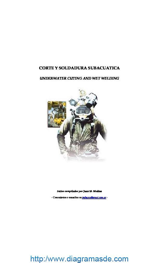 manual soldaduras humedas.pdf Soldadura Submarina