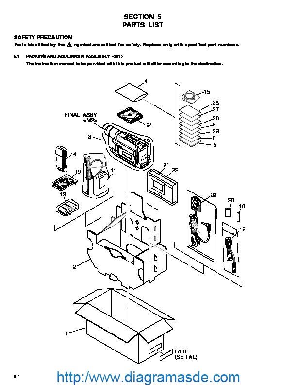 JVC Camcorder GR-SXM257-SXM357-SXM757