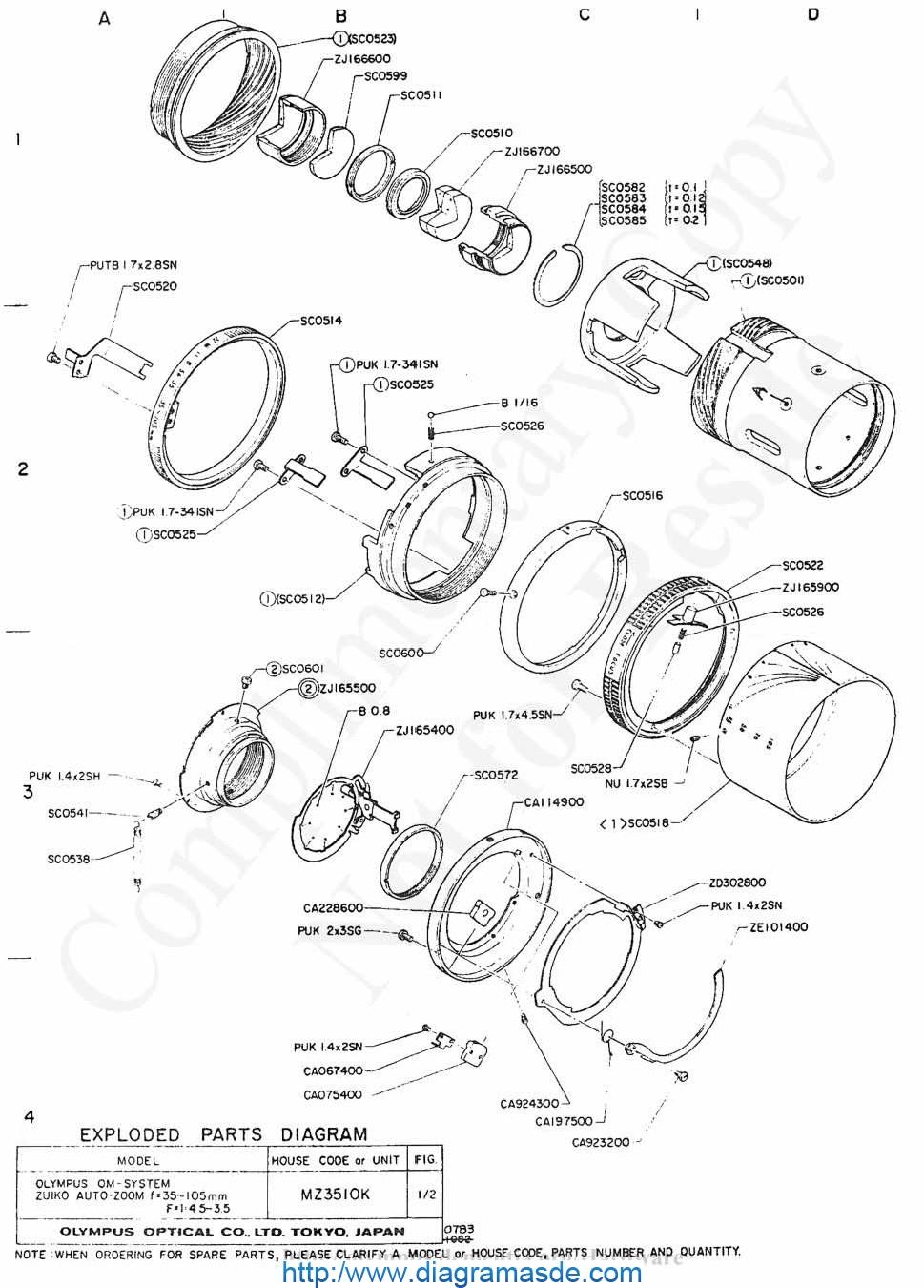 OLYMPUS 35-105mm f3.5-4.5.pdf OLYMPUS MZ-3510K