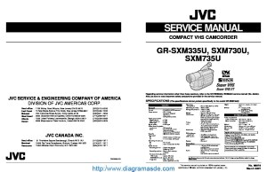 JVC Camcorder GRSXM730 – Manual de serviciopdf JVC | Diagramasde  Diagramas electronicos