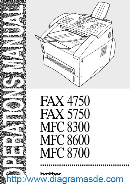 Brother MFC-8600 12PPM 600DPI Multifunction Laser Fax